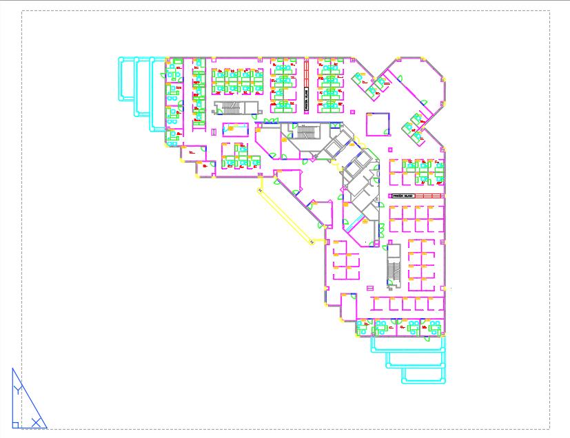 AutoCAD 2D設計の例